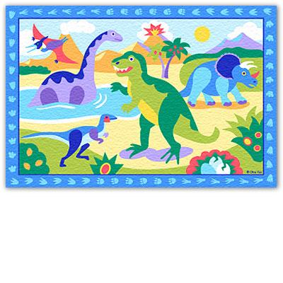 Olive Kids Dinosaurland Printed Rug  Search Results