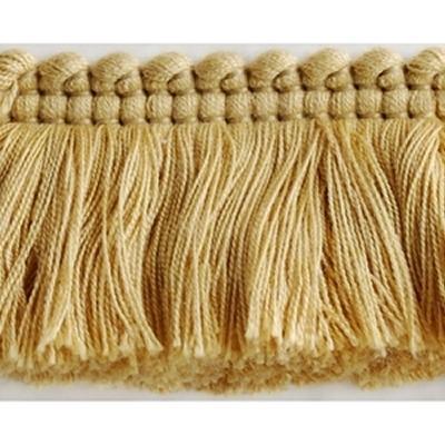 Brimar Trim Brush Fringe Sand Seasonal Elegance