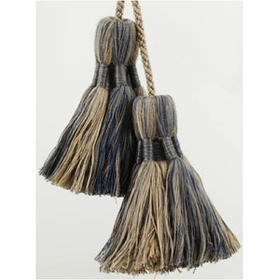 Brimar Trim Chairtie with Tassel Polar Mixed Seasonal Elegance