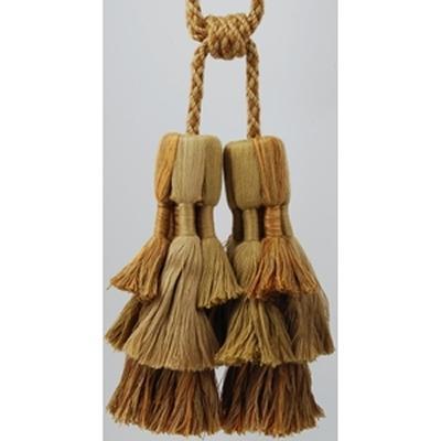 Brimar Trim Double Tassel Tieback Harvest Mixed Seasonal Elegance