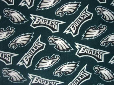 Foust Textiles Inc Philadelphia Eagles  NFL Football Fabric