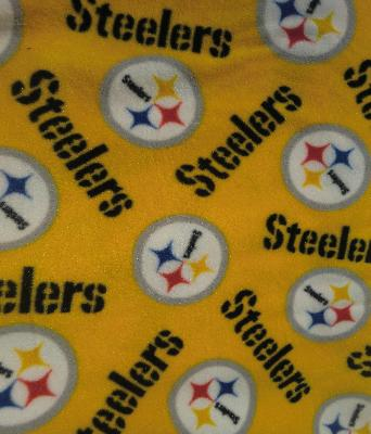 Foust Textiles Inc Pittsburgh Steelers  NFL Football Fabric