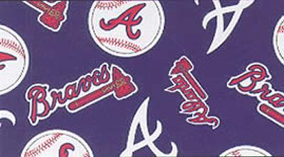 Foust Textiles Inc Atlanta Braves Fleece  Search Results