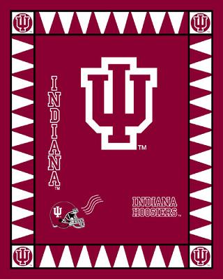 Foust Textiles Inc Indiana Hoosiers Fleece Panel  Search Results