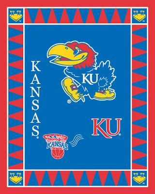 Foust Textiles Inc Kansas Jayhawks Fleece Panel  Search Results