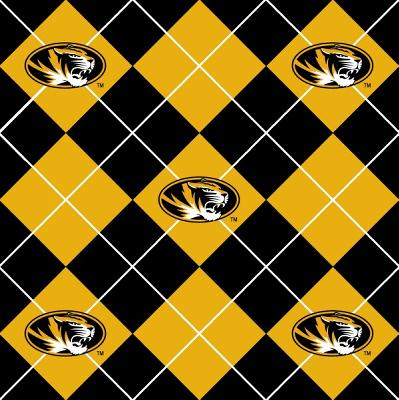 Foust Textiles Inc Missouri Tigers Argyle Fleece  Search Results