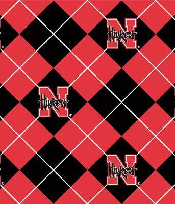 Foust Textiles Inc Nebraska Cornhuskers Argyle Fleece  Search Results