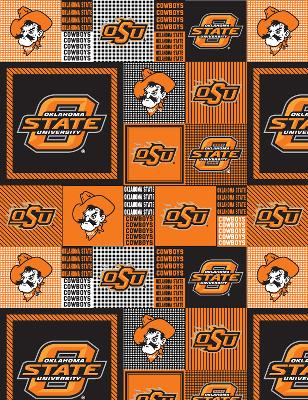Foust Textiles Inc Oklahoma State Cowboys Block Fleece  Search Results