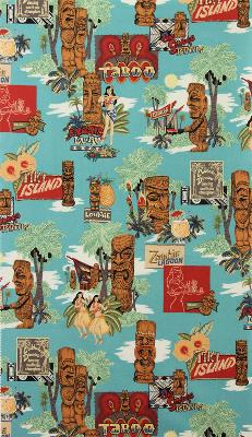Alexander Henry Tiki Island Turquoise Search Results