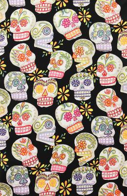 Alexander Henry Calaveras-Glitter Black Search Results