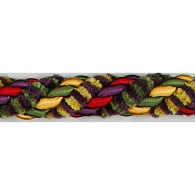 Brimar Trim  1/2 in Chenille Lipcord PGG Fabric Cord
