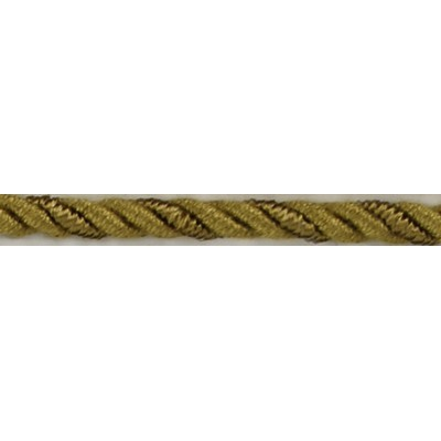 Brimar Trim  1/4 in Braided Cord W/Lip ACG Braided Trim