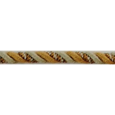 Brimar Trim  1/4 in Braided Cord W/Lip CAT Fabric Cord