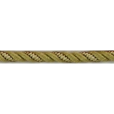 Brimar Trim  1/4 in Braided Cord W/Lip CT Fabric Cord