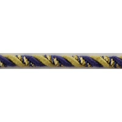 Brimar Trim  1/4 in Braided Cord W/Lip PWC Braided Trim