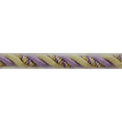 Brimar Trim  1/4 in Braided Cord W/Lip VYE Braided Trim
