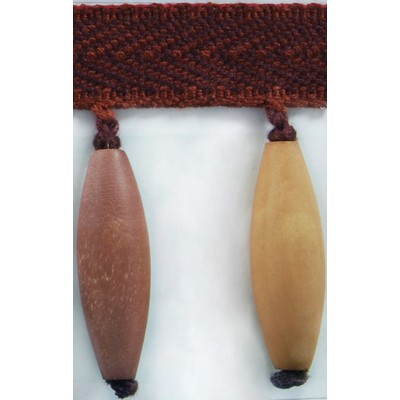 Brimar Trim 3 in Wood Bead Fringe PLM Search Results