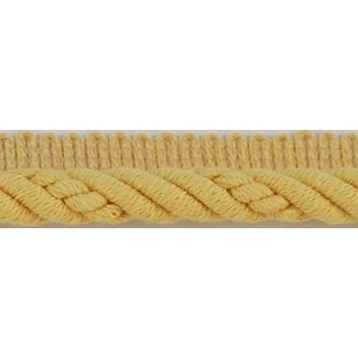 Brimar Trim  1/2 in Braided Cord W/Lip BTR Fabric Cord