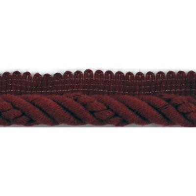 Brimar Trim  1/2 in Braided Cord W/Lip BU Braided Trim