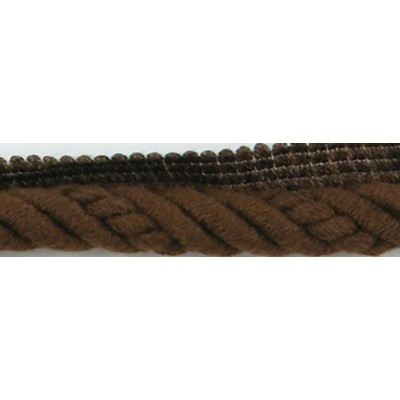 Brimar Trim  1/2 in Braided Cord W/Lip COF Fabric Cord