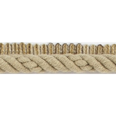 Brimar Trim  1/2 in Braided Cord W/Lip KHA Fabric Cord