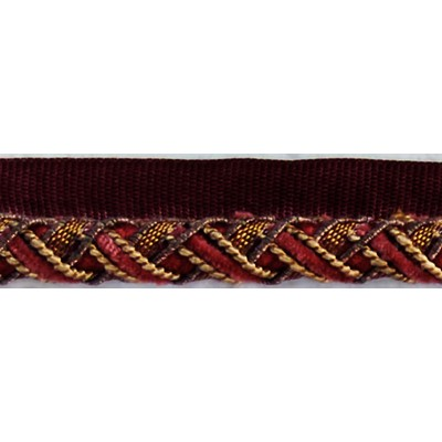 Brimar Trim  1/2 in Lipcord ANG Fabric Cord