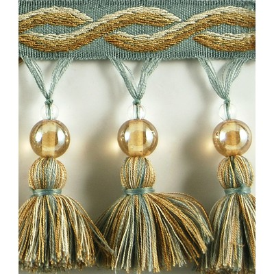 Brimar Trim 3 1/4 in Glass Bead Tassel Fringe POL Search Results