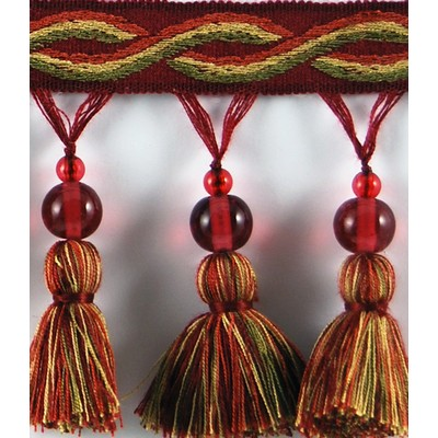 Brimar Trim 3 1/4 in Glass Bead Tassel Fringe RUB Search Results