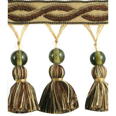 Brimar Trim 3 1/4 in Glass Bead Tassel Fringe TEY Search Results