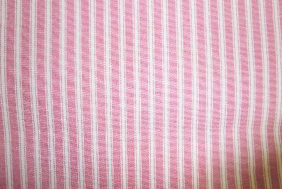 Covington New Woven Ticking 787 Begonia Ticking Stripe Fabric