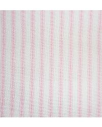 Woven Ticking 17 Pink by