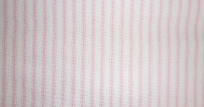 Covington Woven Ticking 17 Pink Ticking Fabric