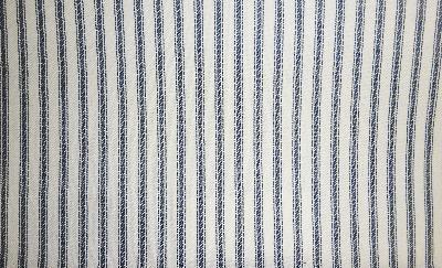 Covington Woven Ticking 55 Navy Ticking Fabric