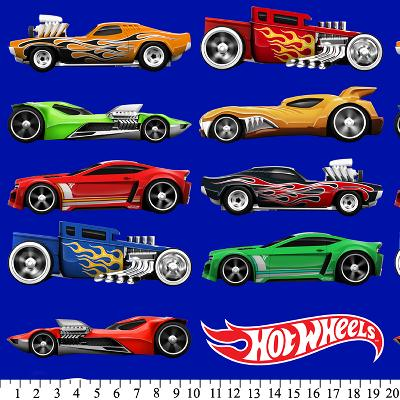 David Textiles Hot Wheels Cars in Line Anti-Pill Fleece  Search Results