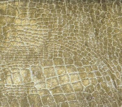 Europatex Crocodile Velvet Olive Crocodile Velvet