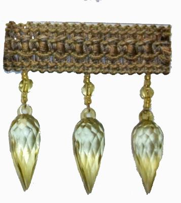 Fabricade Trim 202155 Braid with Teardrop Bead Bamboo Search Results
