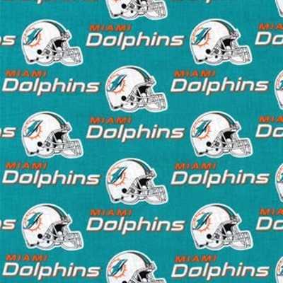 Foust Textiles Inc Miami Dolphins Cotton Print  Search Results