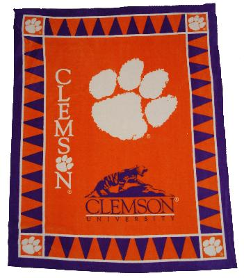 Foust Textiles Inc Clemson Tigers Fleece Panel  Search Results