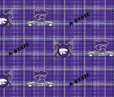 Foust Textiles Inc Kansas State Wildcats Plaid Cotton Print  Search Results
