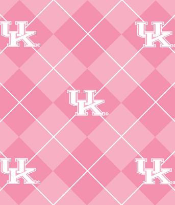 Foust Textiles Inc Pink Kentucky Wildcats Argyle Fleece  Search Results