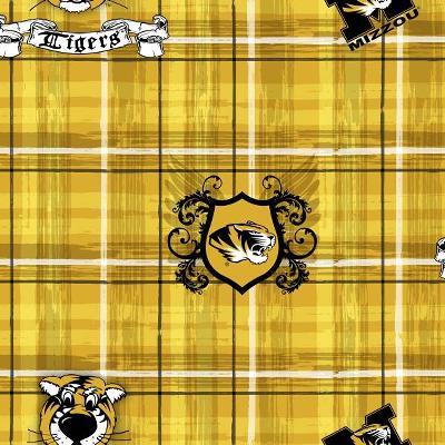 Foust Textiles Inc Missouri Tigers Plaid Cotton Print  Search Results