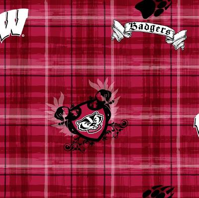 Foust Textiles Inc Wisconsin Badgers Plaid Cotton Print  Search Results