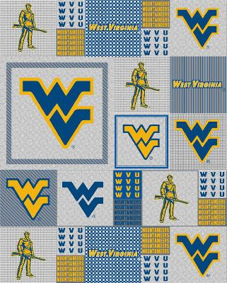 Foust Textiles Inc West Virginia Mountaineers Back to School Fleece  Search Results