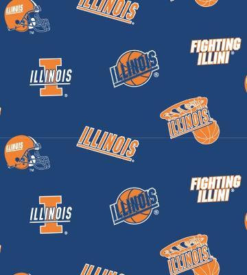 Foust Textiles Inc Illinois Illini Blue Fleece  Search Results