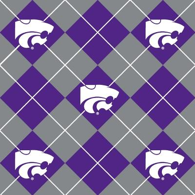 Foust Textiles Inc Kansas State Wildcats Argyle Fleece  Search Results