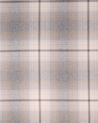 Hamilton Fabric Glenbrook Plaid Greystone Fabric
