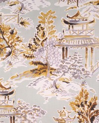 Hamilton Fabric Ming Goldenrod Fabric
