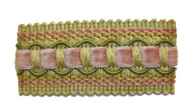 Kasmir Trim 1 3/8 Inch Braid 11 Kasmir Trim