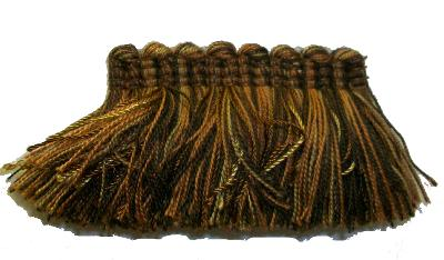 Kasmir Trim 1 3/8 Inch Brush Fringe  6 Kasmir Trim