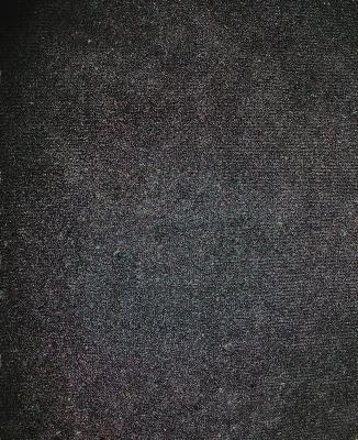 Meyer Velura Black Solid Color Fire Retardant Fabric